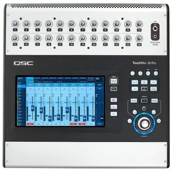 QSC TouchMix-30 Pro digital mixer