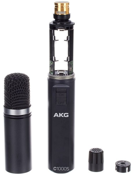 AKG C1000S High-performance small diaphragm condenser microphone