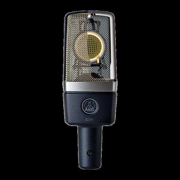 AKG C214 large diaphram condenser microphone