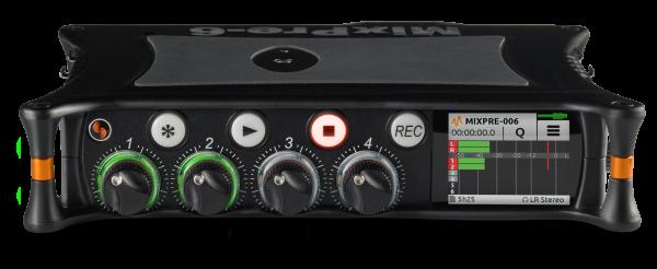 Sound devices MixPre-6 (8 track audio recorder)