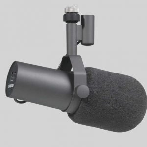 Shure SM7B studio microphone (人聲, 錄音室)