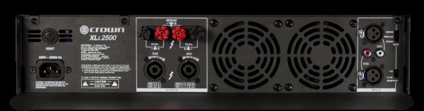 Crown XLi 2500 power amplifier (雙聲道、750W at 4Ω)