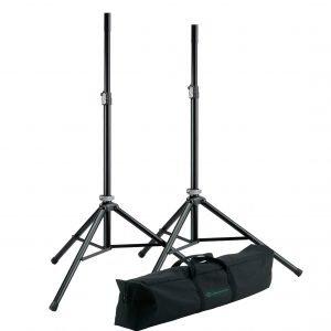 K&M 21449-000-55 speaker stand 套裝(一對連手提袋)