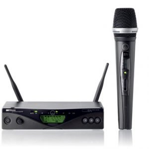 單咪 (single wireless microphone)