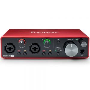 Focusrite Scarlett USB interface G3 (第三代)