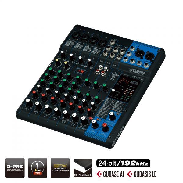 Yamaha MG10 XU mixer (USB and FX function)