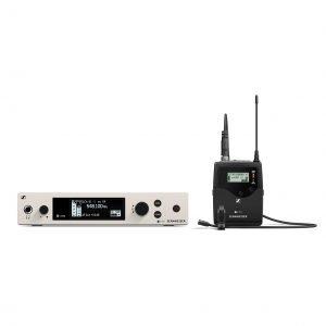 Sennheiser EW 500 G4-MKE2 (wireless lavalier microphone system)
