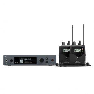 Sennheiser EW IEM G4-TWIN (dual IEM system)