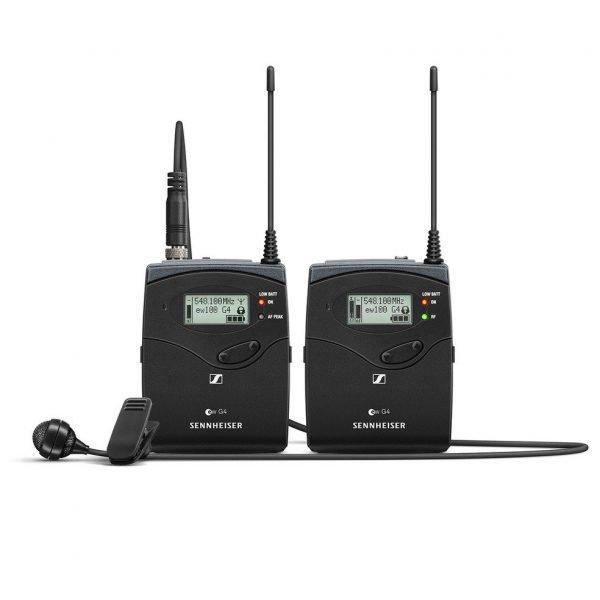 Sennheiser EW 122P G4 (wireless microphone for filming)